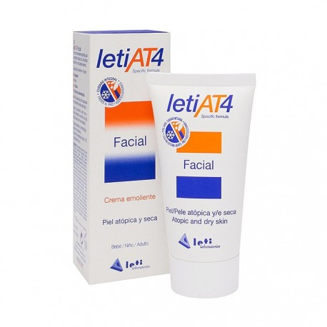 Leti AT4 Crema Facial 50 ml Pieles Atópicas