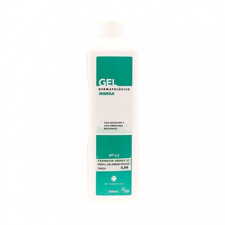 gel dermatologico inibsa 1000 ml.