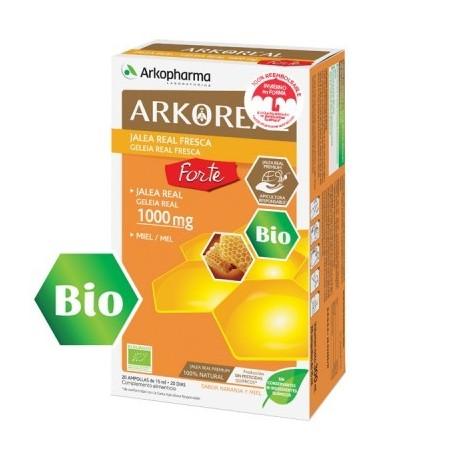 Arkoreal Jalea Real 1000 mg. 20 ampollas