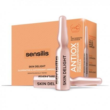 Sensilis Skin Delight Vitamina C 15 Ampollas
