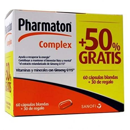 Pharmaton Complex 60 Cápsulas +30 Cápsulas