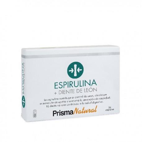 Prisma Natural Espirulina + Diente de León 28 Cáps