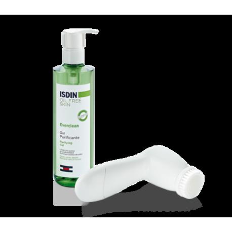 Isdin Everclean Facial Brush & Gel Purificante 240ml