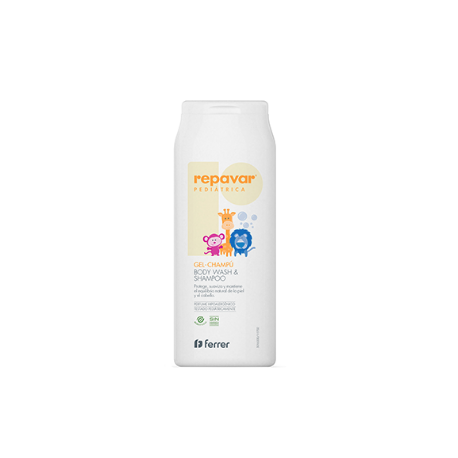 Repavar Pediátrica Gel - Champú 200ml