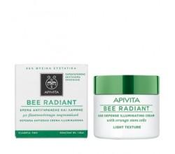 Apivita Bee Radiant Crema Iluminadora Antiedad Textura Ligera 50ml