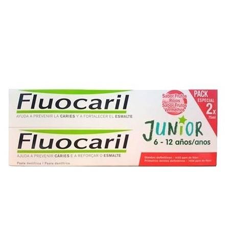 Duplo Pasta Junior 6-12 Años Sabor Frutos Rojos