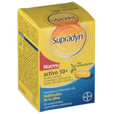 Supradyn Vital 50+ 30 Comprimidos