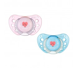 CHUPETE MR WONDERFUL 6-12M ROSA/AZUL