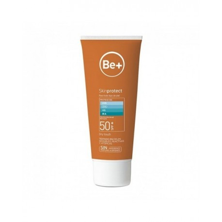 Be+ Leche Solar Skin Protect SPF50+ Toque Seco 200ml