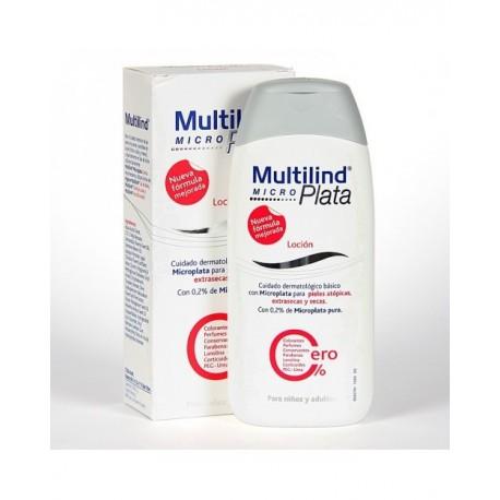Multilind micro plata cero % loción 200ml