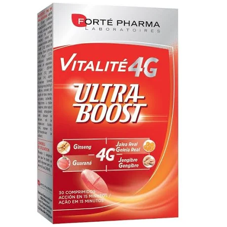 Forte Pharma Vitalité 4G Ultra Boost 30 Comprimidos